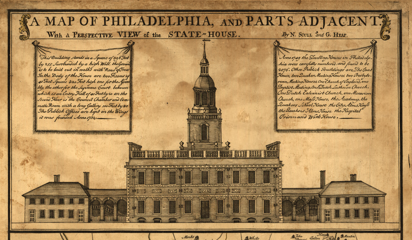 A Brief History of Early Philadelphia